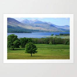 Lakes Of Killarney, Killarney National Park, Ireland Art Print