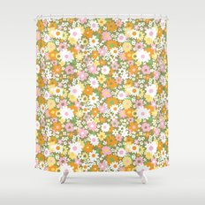 vintage 14 Shower Curtain