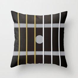 Guitar Neck Fretboard - Music Throw Pillow