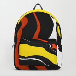 Line of Fire - Waves Backpack