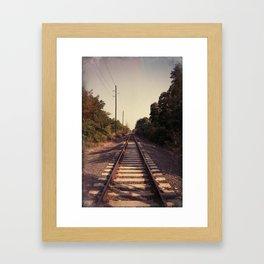 Train Whistle Blues Framed Art Print
