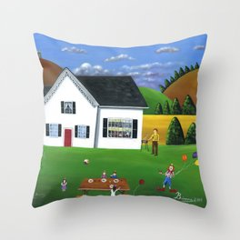 Hilly Happy Birthday Throw Pillow