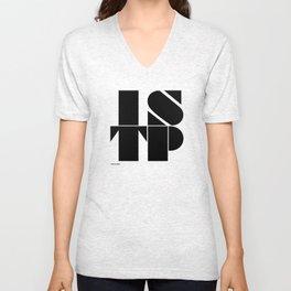 Type Type for ISTP Unisex V-Neck