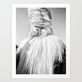 Kuker Performer Black and White Portrait Photography II Art Print