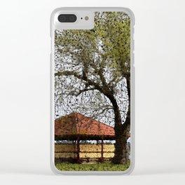 Lake Wendouree Pavilion Ballarat Clear iPhone Case