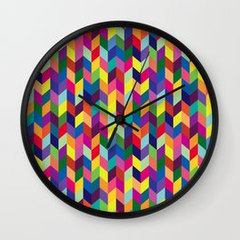 Geometric Pattern #1 Wall Clock