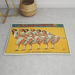 Vintage poster - Hans and Nix Rug