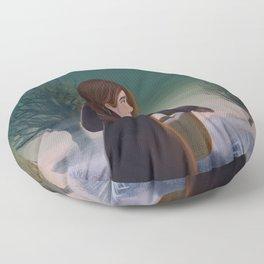 Morning frost Floor Pillow