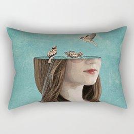 bathers Rectangular Pillow