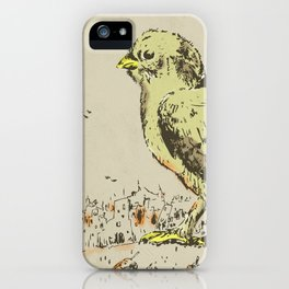 feel the earth tremble (or monster chick) iPhone Case