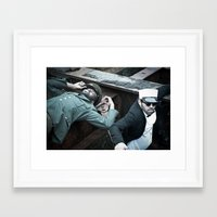 military Framed Art Prints featuring Military by Michael C Swartz