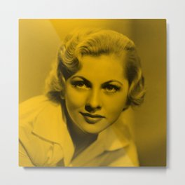 Oliva de Havilland Metal Print