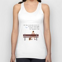 forrest gump Tank Tops featuring Forrest Gump by Christina