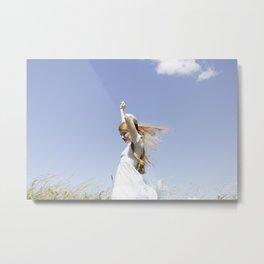 Blue skies Metal Print