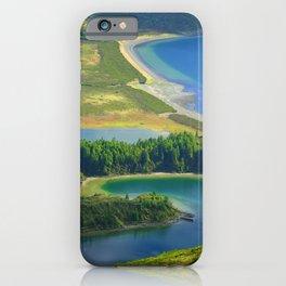 Colorful lake iPhone Case