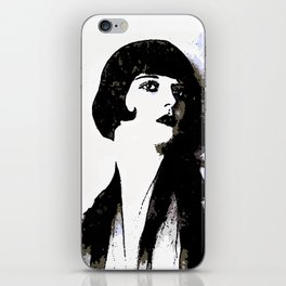 LOUISE BROOKS:  MY LOVE IS ALL I HAVE TO GIVE iPhone Skin