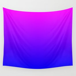 Fuchsia/Violet/Blue Ombre Wall Tapestry