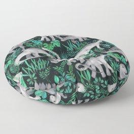Dinosaur Jungle Floor Pillow