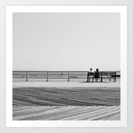 Brighton Beach Art Print
