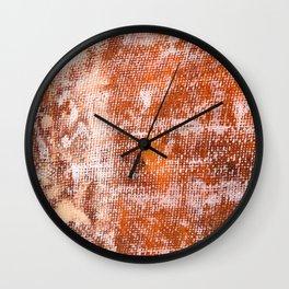 Fiberglass repairing shipboard texture Wall Clock