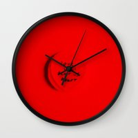 joy division Wall Clocks featuring Joy Division by short stories gallery