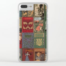 The Golden Age of Book Design Clear iPhone Case