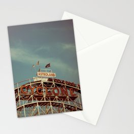 Coney Island Cyclone Stationery Cards