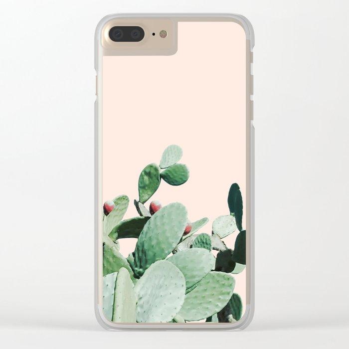 Cactus culture Clear iPhone Case