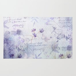 Lavender Garden Rug