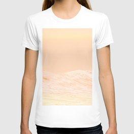 Ocean Waves Peach T-shirt