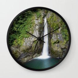Doña Juana Falls Wall Clock