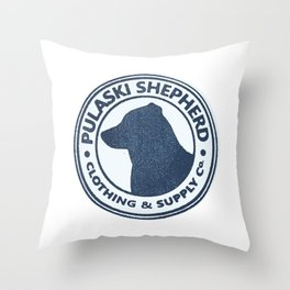 Pulaski Shepherd Clothing & Supply Co. Throw Pillow