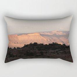 Mt. Garfield & Bookcliffs, Colorado Rectangular Pillow