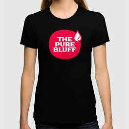 The Pure Bluff Logo (Red) — APPAREL T-shirt
