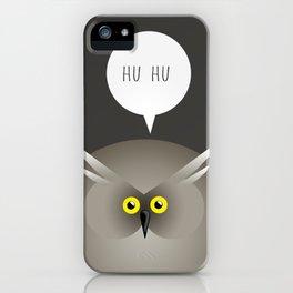 ANIMALS   OWL iPhone Case