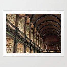 Long Room - Trinity College Dublin Art Print