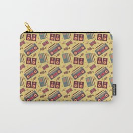 retro gadgets pattern Carry-All Pouch