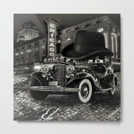 Don Cadillacchio Black and White Metal Print