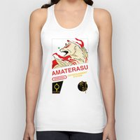 okami Tank Tops featuring NES Okami by IF ONLY