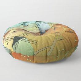 Glorious Days Floor Pillow