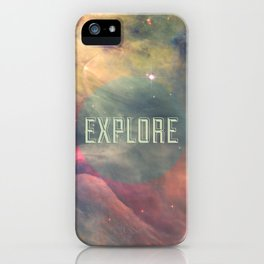 Explore III iPhone Case