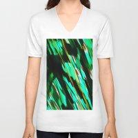 camo V-neck T-shirts featuring CAMO BRONX by Chrisb Marquez
