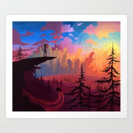 Let's Get Out Of This Country Art Print