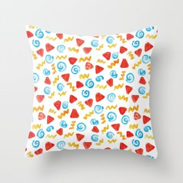 Swirl Pattern! Throw Pillow