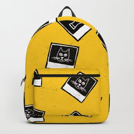 Like My Cat Pics Polaroids Pattern Backpack