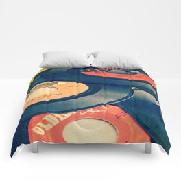 Take those old records off the shelf Comforters