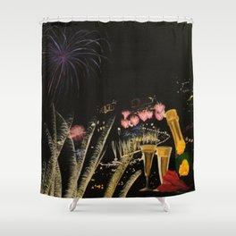 Fogo de artificio fim de ano na Madeira! Shower Curtain