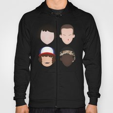 Mike, Eleven, Dustin and Lucas - Stranger Things Hoody