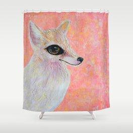 Fenech the Fox Shower Curtain