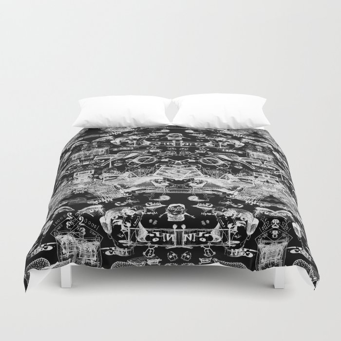 The road to Sochi Duvet Cover